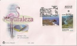 2002 Spanien Mi. 3729-0 FDC    Naturschutzgebiete - FDC