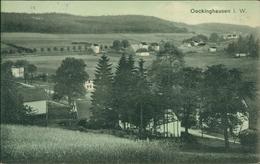 AK Halver-Oeckinghausen, Teilansicht, O 1921, Briefmarke Entfernt (1636) - Halver
