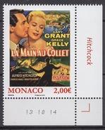 ** MONACO 2015- N° 2957  - (LES FILMS DE GRACE KELLY - LA MAIN AU COLLET )- NEUF ** - Monaco