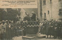 """Nantes - Dimanche 14 Juin 1931  Le Naufrage Du Vapeur D' Excursion """"Saint Philibert"""" Discours Du Maire - Nantes"""