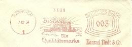 Firmcover Meter Brocken Die Qualitatsmarke, Konrad Tiedt, Hannover 2/12/1934 - Abdijen En Kloosters