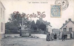 (44) Montoir - Le Calvaire - Croix Enfants - 2 SCANS - Francia