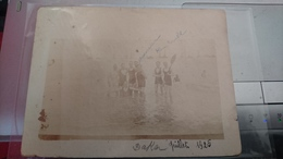 RARE PHOTO HENRI ERABLE AEROPOSTALE DAKAR PLAGE MAILLOT DE BAIN JUILLET 1925 SENEGAL 12 X 9 CM - Aviation