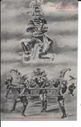 """14/18 TRES RARE CPA 1915 SATIRIQUE ANTI KAISER """"UN RESULTAT"""" LES ETATS GERMANIQUES (A VOIR) - Oorlog 1914-18"""