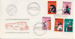 Damenvelop Kinderpostzegelactie 1967 - Blanco / Open Klep - FDC