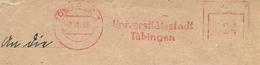 Firmcover Meter Universitatsstadt Tubingen, 3/10/1946 - Culturen
