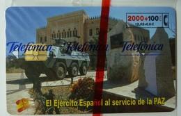 SPAIN - Chip - 2000+100 Units - El Ejercito Espanol - 05.01 - 4305ex - Mint Blister - Conmemorativas Y Publicitarias