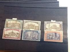 86174) Lotto Francobolli - ITALIA REGNO-1924 Anno Santo-n.169-74 Nuovi* - Nuovi