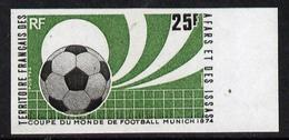 Afars & Issas 1974, World Football Cup In Munich, 1val IMPERFORATED - World Cup