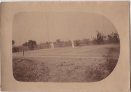 Photo Originale Militaria Pacification Du Soudan 1927 Coloniaux Haut Sénégal Niger Bamako Mali Tennis - Sport