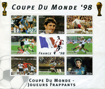 FRANCE FOOTBALL COUPE DU MONDE 1998 BLOC TOGO NEUF - World Cup