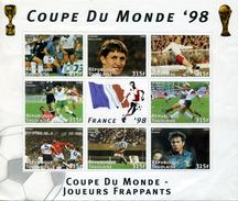 FRANCE FOOTBALL COUPE DU MONDE 1998 BLOC TOGO NEUF - 1998 – France