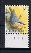 Belgie OCB 2294 (**) Met Plaatnummer 1. - 1985-.. Pájaros (Buzin)