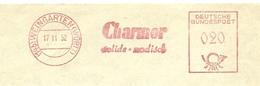 Firmcover Meter CHARMOR Oberschwabisches Textil-Werk Weingarten/Wurtt 17/11/1952 - Textiel