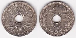 25 CENTIMES - LINDAUER 1940 FDC NON CIRCULEE (voir Scan) 1 - F. 25 Centesimi
