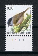 Belgie OCB 3389 (**) Met Plaatnummer 1. - 1985-.. Pájaros (Buzin)