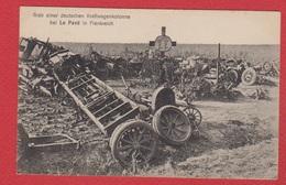 Grab Einer Deutschen Kraftwagenkolone Bei Le Pavé In Frankreich - War 1914-18