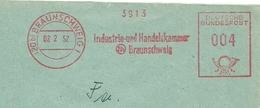 Firmcover Meter Industrie Und Handelskammer Braunschweig 2/2/1952 - Fabrieken En Industrieën
