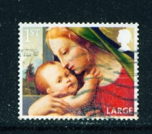 GREAT BRITAIN  -  2013  Christmas  1st Large  Used As Scan - Used Stamps