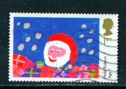 GREAT BRITAIN  -  2013  Christmas  1st  Used As Scan - Used Stamps