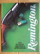 ARMES - MUNITIONS - Original 1976 REMINGTON Sporting Firearms And Ammunition Catalog 48 Pages - Cataloghi