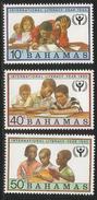 1990 Bahamas Literacy Education Books Complete Set Of 3  MNH - Bahamas (1973-...)