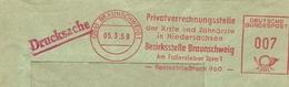 Firmcover Meter Privatverrechnungsstelle Der Arzte Und Zahnarzte In Niedersachsen, Braunschweig 5/3/1959 - Geneeskunde