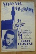 Partition - André Claveau - Sérénade Florentine - Ed. Chappell - Musique & Instruments