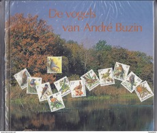 Belgie - Belgique BOEK 'De Vogels Van André Buzin' Met 24 Zegels - DEEL I - 1985-.. Oiseaux (Buzin)