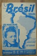 Partition - Léo Marjane - Brazil - Ed. S.E.M.I - Musique & Instruments
