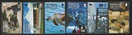 2001 Bermuda Aquarium Museum Zoo Turtle  Complete Set Of 5   MNH - Bermuda