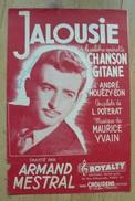 Partition - Armand Mestral - Jalousie -  Ed. Royalti - Musique & Instruments