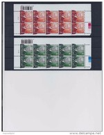 Belgie - Belgique 3695/99 Velletje Van 10 Postfris - Feuillet De 10 Timbres Neufs  -  Koning Albert II - Feuilles Complètes