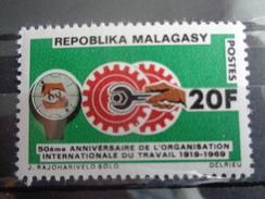 MADAGASCAR   Y&T N° 461 ** - O.I.T. - Madagaskar (1960-...)