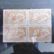 TIMBRES  ALGERIE  COLIS  POSTAUX   TYPE  C  N 113  BLOC  DE  4  TIMBRES  NEUFS  GOMME  D ORIGINE - Algérie (1924-1962)