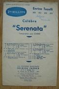 Partition - Enrico Toselli - Serenata - Ed. Delrieu Frères - Musique & Instruments