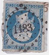 N° 14 B   PC 1183   EPERNAY    /   MARNE   -  REF 14017 - 1853-1860 Napoléon III.