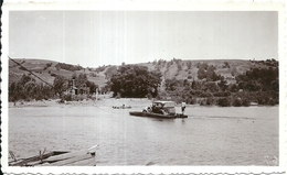 67783 CHILE CRUCE DEL RIO RENAICO EN BALSA PHOTO NO POSTAL TYPE POSTCARD - Chile