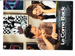 """Film """"Le Come Back"""" à La Recherche De La Nouvelle Gloire, Hugh GRANT, Drew BARRYMORE, Warner Bros Pictures - Affiches Sur Carte"""