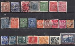 Yougoslavie Lot De 23 Timbres - Collections, Lots & Séries