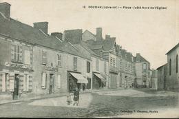 Soudan - Place (côté Nord De L' Eglise) Rare - France