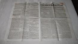 DIORAMA - BOUTON / DAGUERRE - ANNONCE DE 1828. ( Courrier Français.) - Journaux - Quotidiens