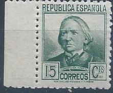 ES733-LA109TCOT.España.Spain. CIFRA  Y PERSONAJES.Concepcion Arenal. 1936/38 (Ed 733**) Sin Charnela,. MAGNIFICO - Celebridades