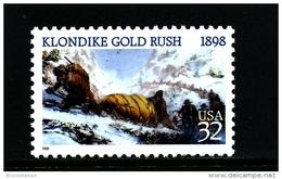 UNITED STATES/USA - 1998  KLONDIKE  GOLD RUSH  MINT NH - Stati Uniti