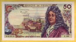 BILLET FRANCAIS - 50 Francs Racine 2-2-1967 SPL - 1962-1997 ''Francs''