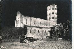71 // ANZY LE DUC    Eglise Illuminée   CPSM - Otros Municipios