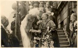 Postcard / ROYALTY / Belgique / Belgium / Reine Astrid / Koningin Astrid / Liège / Mme Pochet / 1935 - Liege