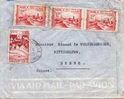 Brief MAROC 1949 - 4 Sondermarken - Marokko (1891-1956)