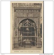 GDLJRTP6764CPA-LFTD12758TBES.Tarjeta Postal DE GUADALAJARA.Portada,ARTE.escultura,CAPILLA DE LA CATEDRAL DE SIGÚENZA - Esculturas