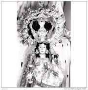 GDLJRTP6784CPA-LFTD5876TBES.Tarjeta Postal DE GUADALAJARA.ARTE.Escultura.la VIRGEN DE LA ANTIGUA,PATRONA DE LA CIUDAD - Esculturas